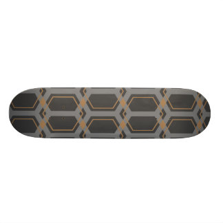 Panal (Tan) Skateboard Deck