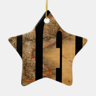 panama1864 ceramic star decoration