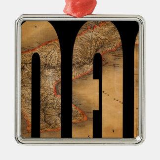 panama1864 metal ornament