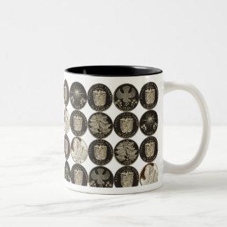 Panama 50 Balboa Coins Two-Tone Mug