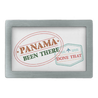 Panama Been There Done That Rectangular Belt Buckles