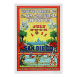 Panama - California Exposition in San Diego 1911 Print