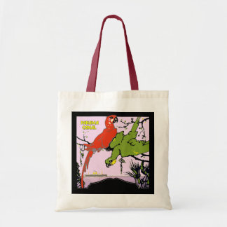 Panama Canal Parrots Budget Tote Bag