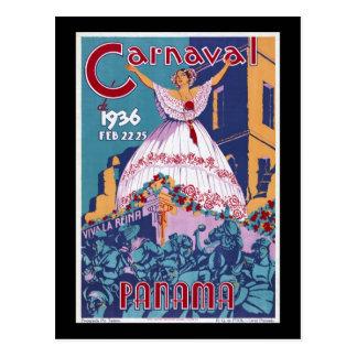 Panama Carnaval Postcard