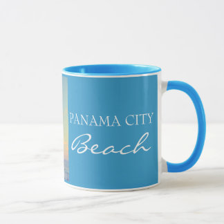 Panama City Beach FL - Palm Trees Sunset Cup