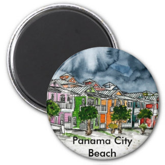 Panama City Beach Florida tropical art gifts Magnet