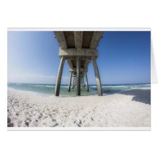 Panama City Beach Pier Card