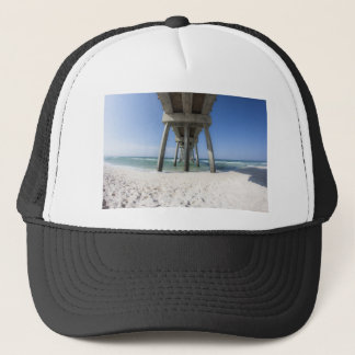 Panama City Beach Pier Trucker Hat