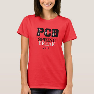 Panama City Beach Spring Break 2017 T-Shirt Red