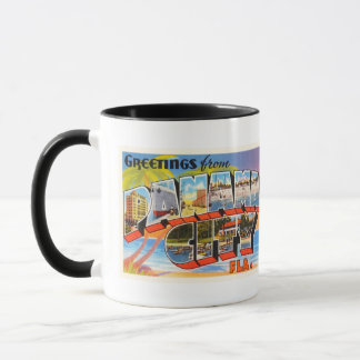 Panama City Florida FL Old Vintage Travel Souvenir Mug