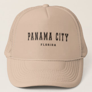 Panama City Florida Trucker Hat