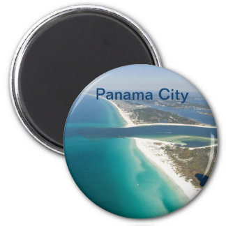 Panama City fridge magnet
