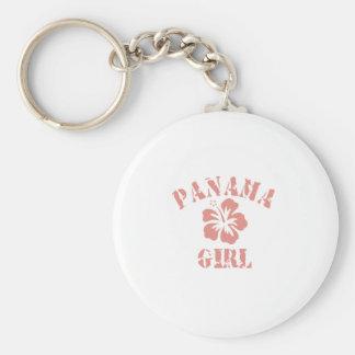 PANAMA BASIC ROUND BUTTON KEY RING