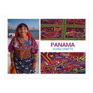 Panama Kuna Crafts postcard