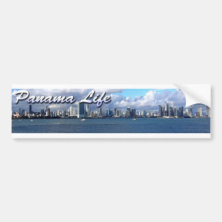 Panama Life Bumpersticker Bumper Sticker