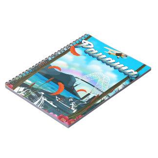 Panama River vacation print Notebook