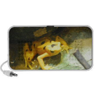 Panamanian Gold Frog Portable Speakers