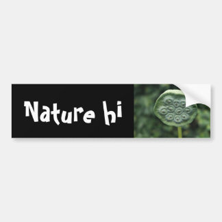 panature bumper sticker