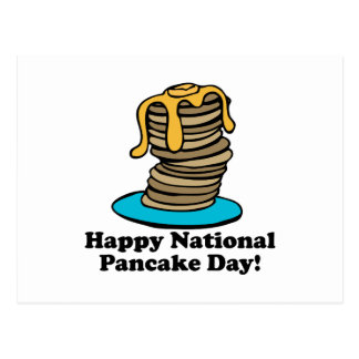 Pancake Day Postcard