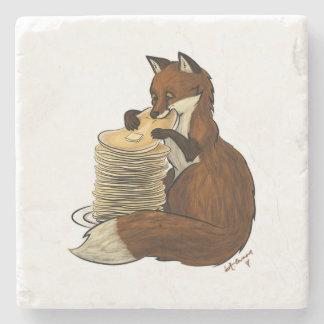Pancake Fox Coaster