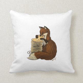 Pancake Fox Pillow