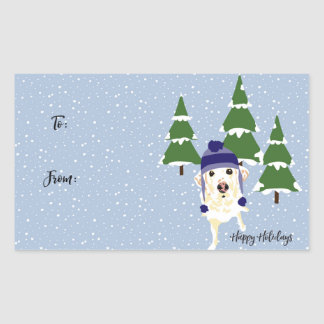 Pancake Holiday Gift Tag Stickers