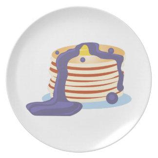 Pancake Stack Dinner Plates