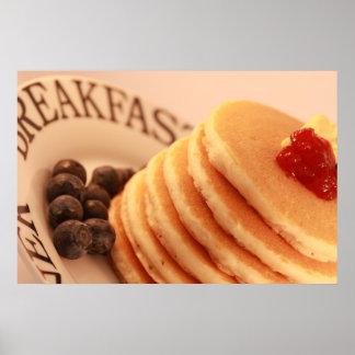 Pancake Stack Poster