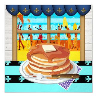 Pancake Supper - Fat Tues - Shrove Tues Invitation