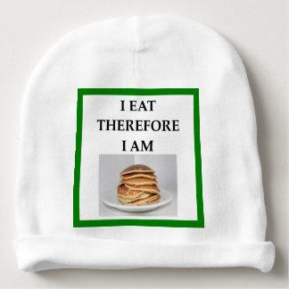 pancakes baby beanie