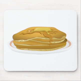 Pancakes Drawing Mouse Pad