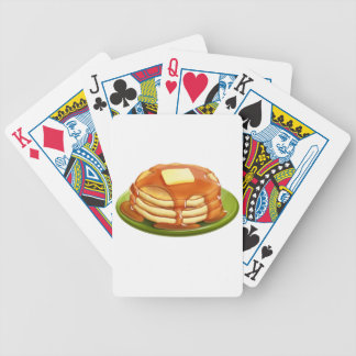 Pancakes Playing Cards