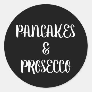 Pancakes & Prosecco Sticker