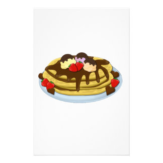 Pancakes - Shrove tuesday Stationery Paper