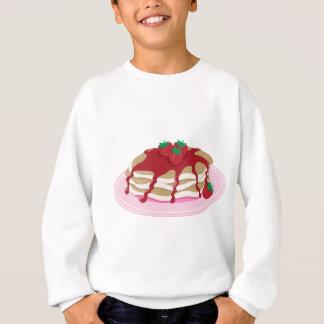 Pancakes Strawberry Sweatshirt