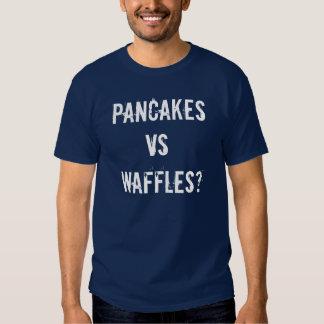PANCAKES VS WAFFLES? T-SHIRTS