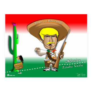 Pancho Donald Postcard