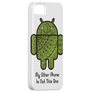 Pancho Doodle Character for the Android™ robot Barely There iPhone 5 Case