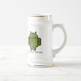 Pancho Doodle Character for the Android™ robot Beer Steins