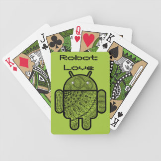 Pancho Doodle Character for the Android™ robot Deck Of Cards