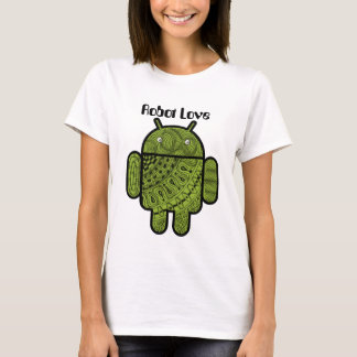 Pancho Doodle Character for the Android™ robot T-Shirt