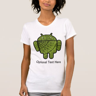 Pancho Doodle Character for the Android™ robot T-shirts
