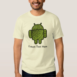 Pancho Doodle Character for the Android™ robot Tees