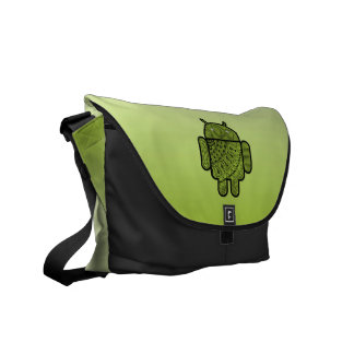 Pancho Doodle for Android™ Commuter Bags