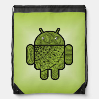 Pancho Doodle for Android™ Drawstring Backpack