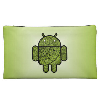 Pancho Doodle for Android™ Makeup Bags