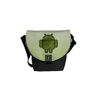 Pancho Doodle for Android™ Messenger Bags