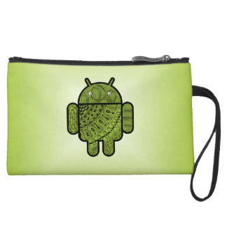 Pancho Doodle for Android™ Wristlet Clutch