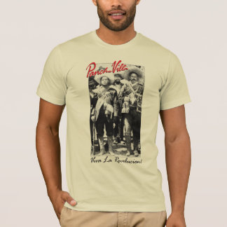 Pancho Villa and  Contreras Mexican War T-Shirt