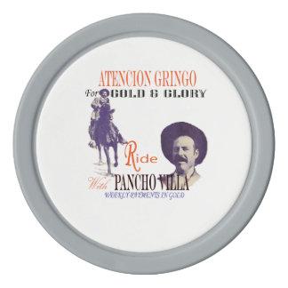 Pancho Villa Mexican Hero General Poker Chips